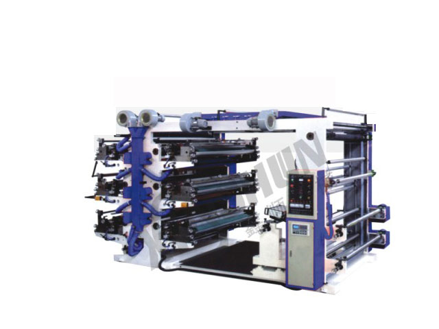 YT Series Six-Colour Flexographic Printing Machine