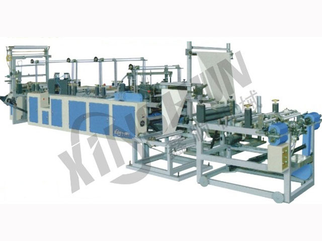 RLD-800/1300 Series Ribbon-through Conituous-rolled Bag Making Machine