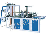 Double Lines Cold Cutting Bag Making Machine