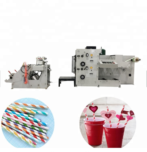 XS-2 Color Straw Paper Flexo Printing Machine