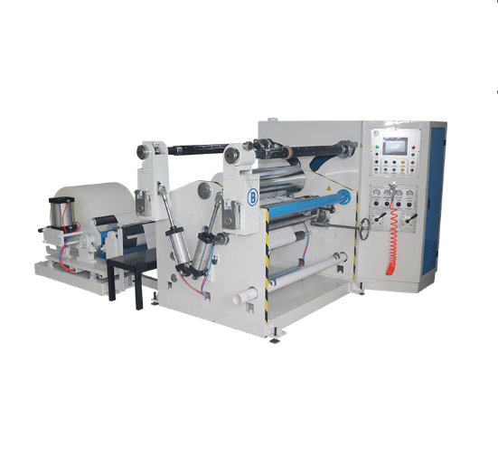 XS-900 Straw Paper Strip Roll Slitting Rewinding Machine